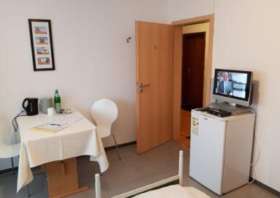 Einzel oder Doppelzimmer